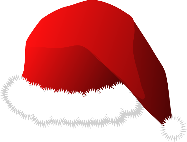 santa hat clipart with transparent background - photo #6