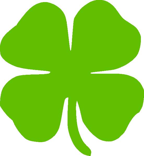 4 leaf clover clip art at clker com vector clip art online rh clker com clip art four leaf clover free four leaf clover clip art