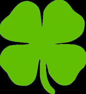 4 leaf clover clip art at clker com vector clip art online rh clker com 4 leaf clover clip art images small 4 leaf clover clip art