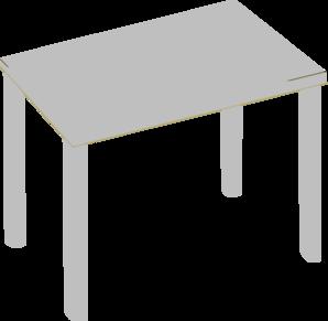 Grey Table Clip Art