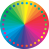 Rainbow Spirituality Circle Clip Art