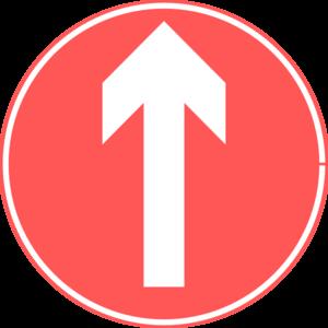 up road sign clip art at clker com vector clip art online royalty
