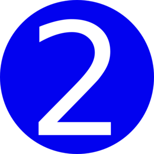 Blue, Rounded,with Number 22 Clip Art at Clker.com ...