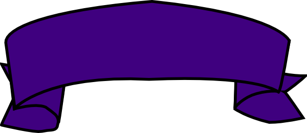 Purple Banner Clip Art at Clker.com - vector clip art ...