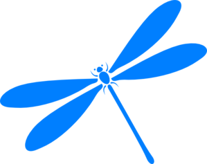 Dragonfly In Flight Clip Art
