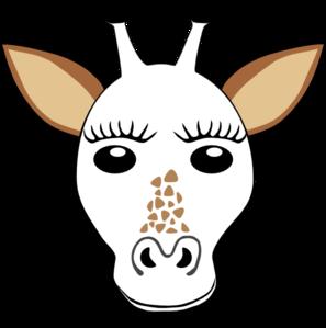 Giraffe Template Clip Art