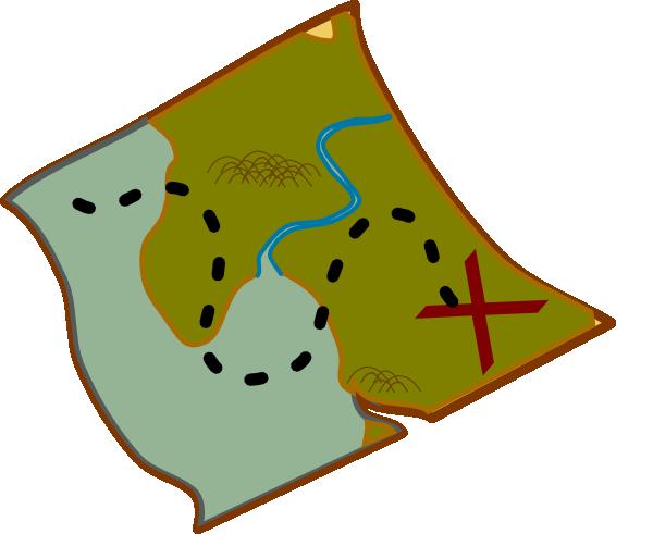 Treasure Map Clip Art at Clker.com - vector clip art ...