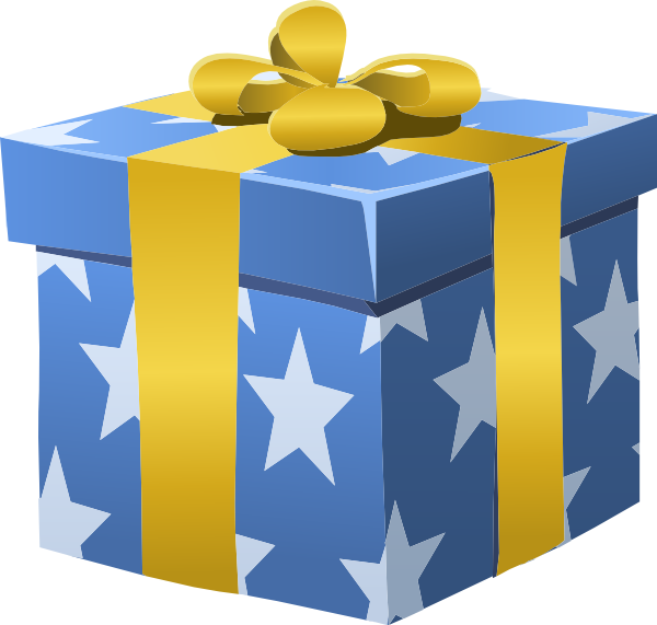 Gift box clip art at clker vector clip art online royalty download this image as negle Choice Image