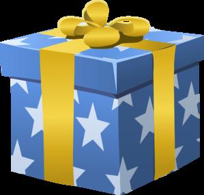 Gift Box Clip Art at Clker.com - vector clip art online, royalty free ...