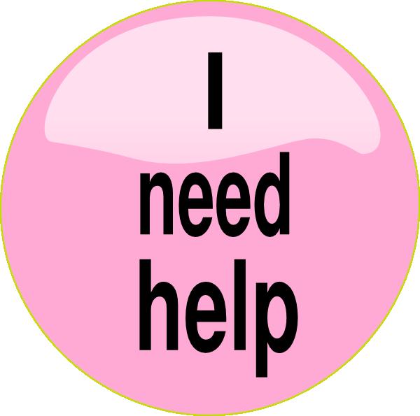 i need help pink button clip art at clker com vector clip art rh clker com please help clip art help needed clip art
