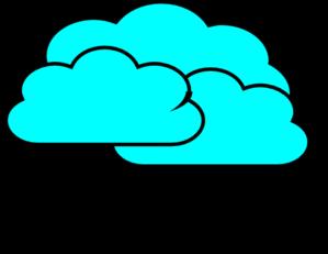 Cloudy Clip Art at Clker.com - vector clip art online ...