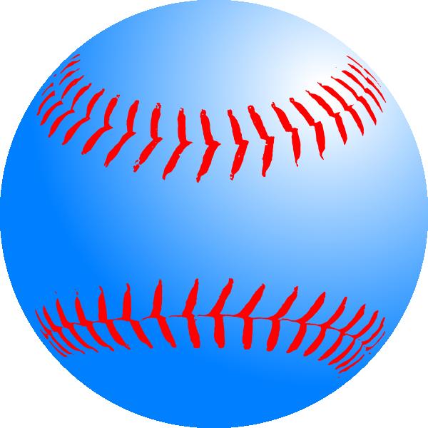 blue baseball clip art at clker com vector clip art online rh clker com