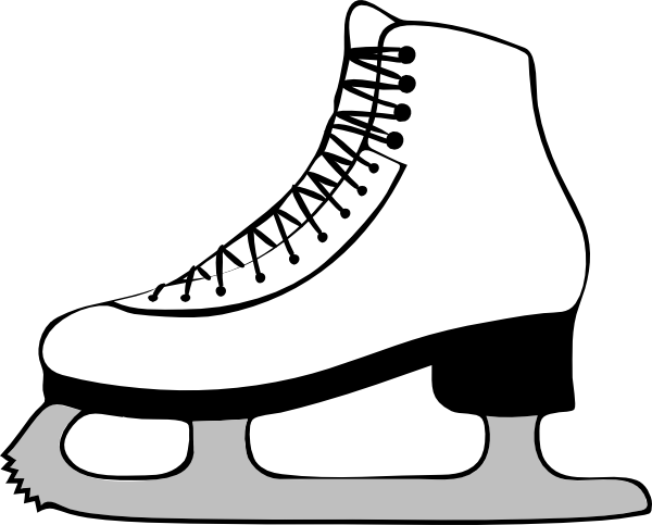 Ice Skating Clip Art at Clker.com - vector clip art online, royalty ...