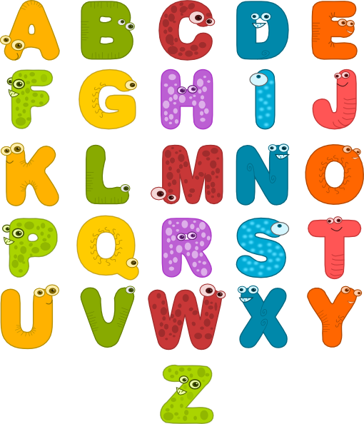 free clipart of alphabet - photo #2