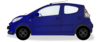 Little Blue Car Clip Art