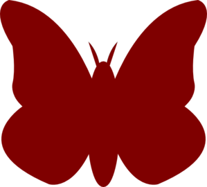 Bright Butterfly Right Clip Art