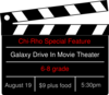 Chi-rho Drive In Movie Invitation Clip Art