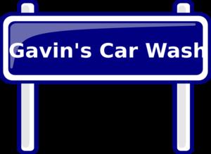 Gavin S Car Wash Clip Art at Clker.com - vector clip art online ...