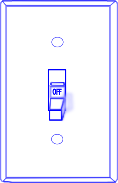 Light Switch Off Clip Art At Clkercom Vector Clip Art Online