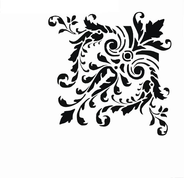 Fancy Scrollwork Clip Art at Clker.com - vector clip art ...