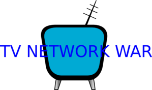 Blue Tv Antenna Clip Art