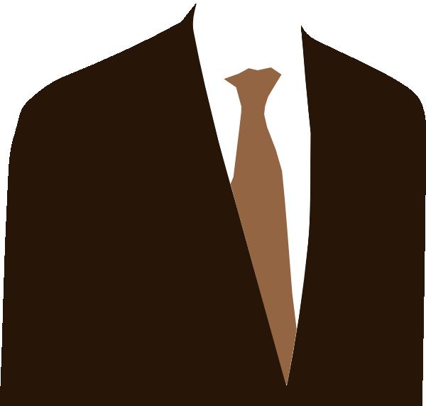 brown suit clip art at clker com