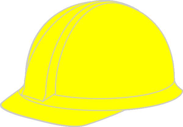 yellow hard hat clipart - photo #4