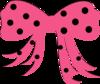 Polkadot Bow Clip Art