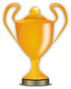 Golden Trophy Clip Art
