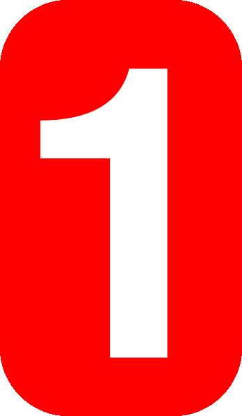Number 1 Clip Art at Clker.com - vector clip art online, royalty free ...