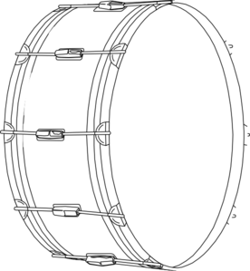 Drum Clip Art At Clker