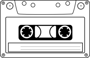 cassette audio tape clip art at clker com vector clip art online rh clker com tape clipart free tape clipart