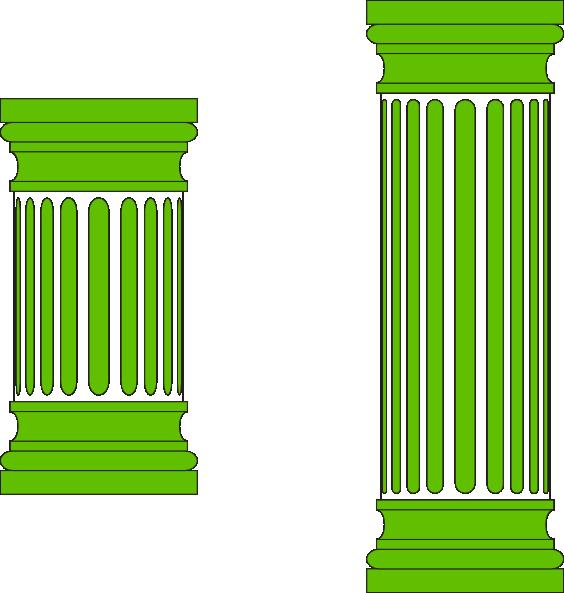 Ancient Columns Clip Art at Clker.com - 19.3KB