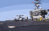 Uss Stennis - French E-2c Clip Art