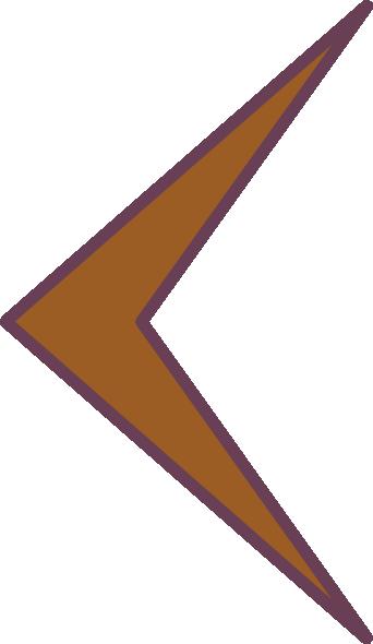 clipart arrow pointing left - photo #21