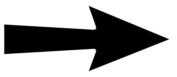 cws arrow 1000 clip art at clkercom vector clip art