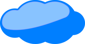 Cloud2 Clip Art