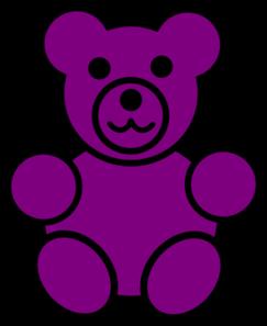 purple bear clip art at clker com vector clip art online royalty rh clker com gummy bear images clipart gummy bears clipart