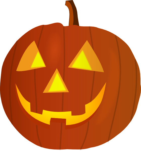 jack o lantern faces clip art - photo #42
