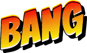 Comic Book Bang Clip Art