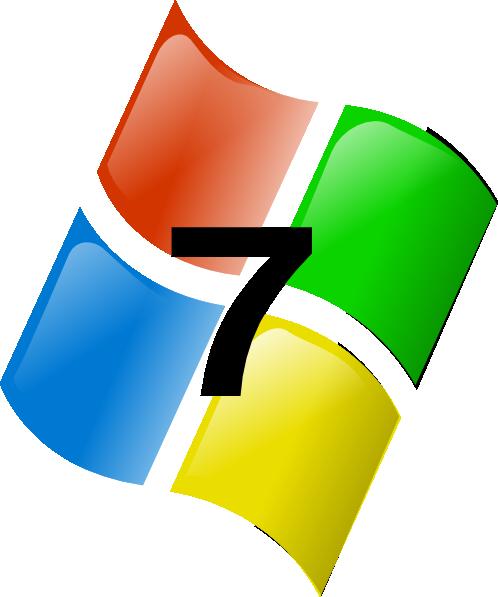 Windows 7 Clip Art at Clker.com - vector clip art online ...