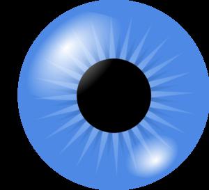 Blue Eyes Clip Art