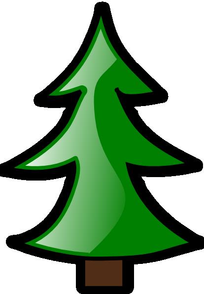 large christmas tree clip art free - photo #26