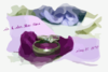 Rings On Petals Clip Art