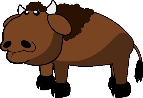 Buffalo Clip Art at Clker.com - vector clip art online ...