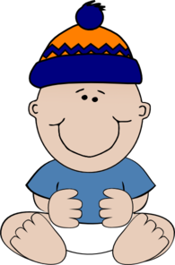Boy In Winter Cap Clip Art