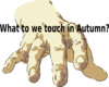 Touching Autumn Clip Art