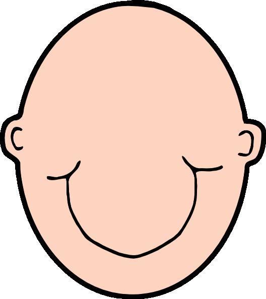 plain peach head clip art at clker com vector clip art online rh clker com head clipart images head clipart png