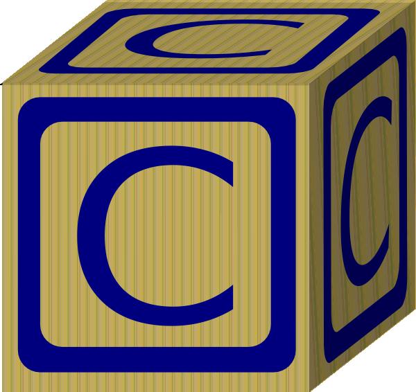 Alphabet Block C Clip Art At Clker Com