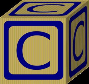 Alphabet Block C Clip Art at Clker.com - vector clip art ...